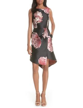 Eyvii Bay Of Honour Asymmetrical Dress by Ted Baker London