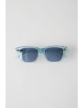 Cateye Sunglasses Blue/Aqua by Acne Studios