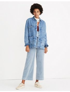 Selvedge Denim Chore Coat by Madewell