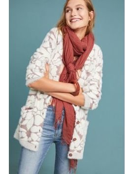 Floral Eyelash Cardigan by Meadow Rue