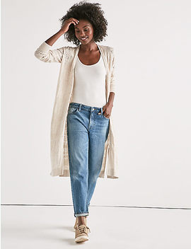 Mix Stitch Duster by Lucky Brand