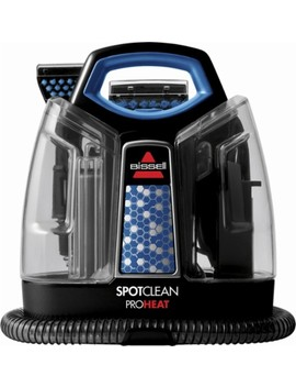 Spot Clean Pro Heat Handheld Deep Cleaner   Black/Motley Blue by Bissell