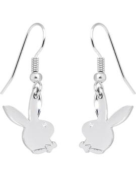 Playboy Bunny Shiny Logo Earrings by Body Candy