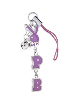 Playboy Pink Rabbit Head Cell Phone Charm by Body Candy