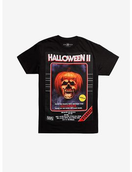 Halloween Ii Vhs Cover T Shirt by Hot Topic