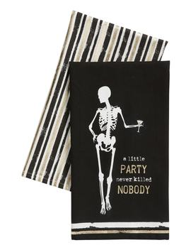 A Little Party Never Killed Nobody Set Of 2 Dishtowels by Levtex