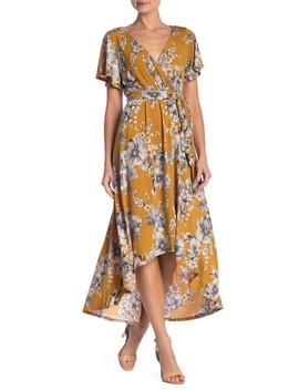 Hi Lo Floral Dress by West Kei