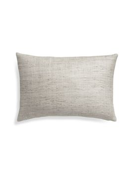 "Trevino Alloy 15""X22"" Pillow Cover by Crate&Barrel"
