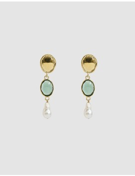 Sirena Drop Earrings by Mondo Mondo
