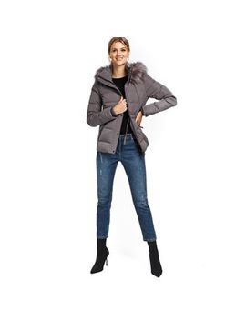 Wallis   Mink Draw Waist Short Padded Jackets by Wallis