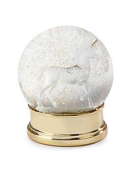Unicorn Snow Globe by Z Gallerie