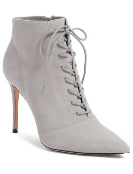 Orchid Leather Bootie by Something Navy
