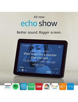 "All New Echo Show (2nd Gen)   Premium Sound And A Vibrant 10"" Hd Screen   Charcoal by Amazon"