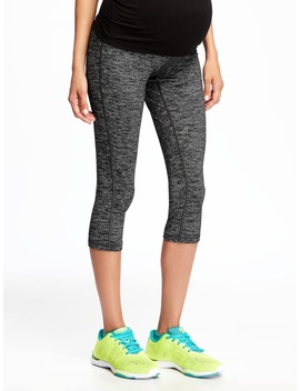 Maternity Full Panel Compression Capris by Old Navy