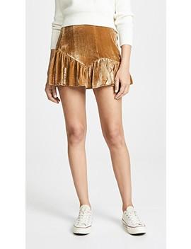 Eliza Miniskirt by Loveshackfancy