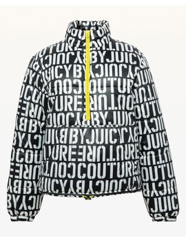 Jxjc Stenciled Juicy Puffer Jacket by Juicy Couture