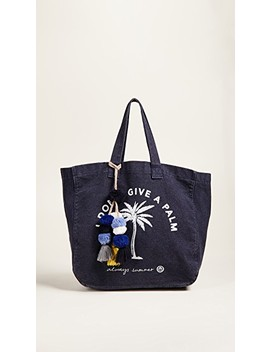 I Don't Give A Palm Tote by Sundry