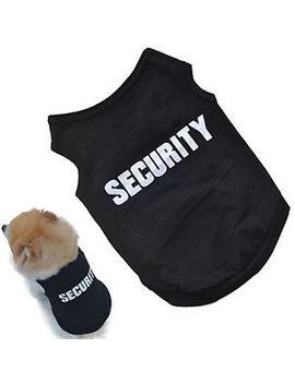 Kd  Pet Winter Clothes Puppy Dog Cat Vest T Shirt Coat Dress Sweater Apparel N by Bluelanshomeau