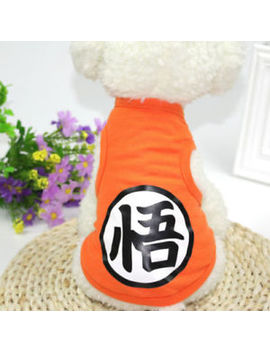 Summer Pet Cat Dog Vest Coat Clothes T Shirt Puppy Cute Cotton Apparel Costumes by Unbranded
