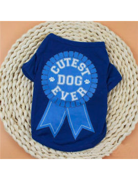 New Pet Summer Cool Clothes Vest Puppy Dog Cat Cute T Shirt Cotton Coat Costumes by Unbranded