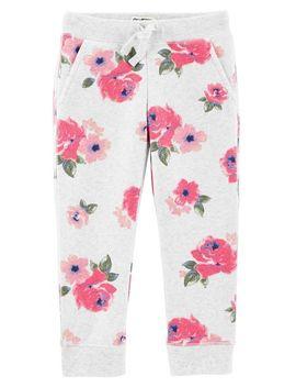 Floral Fleece Pants by Oshkosh