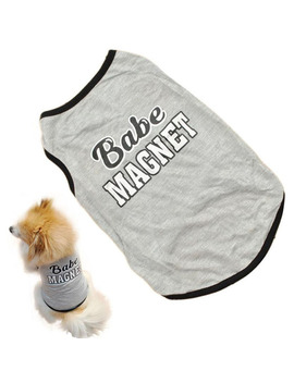 Small Pet Dog Vest T Shirt Coat Puppy Doggy Cotton Clothes Shirt Apparel Costume by Unbranded