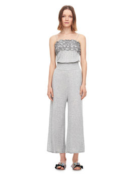 Ruffled Jersey Jumpsuit by Rebecca Taylor