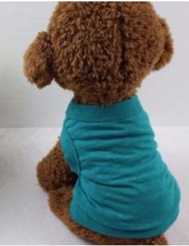 Pet Dog Cotton Summer Shirt Clothes Coat Cute Puppy Cat Vest T Shirt Top Apparel by Unbranded