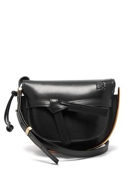 Gate Small Leather Cross Body Bag by Loewe