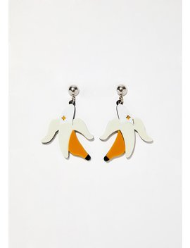 Go Bananas Drop Earrings by Ana Accessories