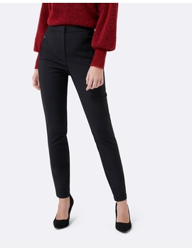 Liz High Waist Skinny Pants by Forever New