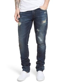 Denim Slim Straight Leg Jeans by Prps