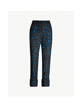 Parone Leopard Print Jersey Trousers by Zadig &Amp; Voltaire