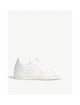 Zadig Stars Leather Trainers by Zadig &Amp; Voltaire