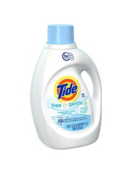 Tide Free And Gentle High Efficiency Liquid Laundry Detergent   100 Oz by Tide