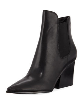 Finley Suede Gored Booties by Kendall + Kylie
