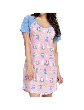 Women's Short Sleeve Sleep Shirt by Toast & Jammies
