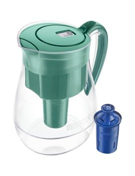 Brita Monterey 10 Cup Bpa Free Water Pitcher With 1 Longlast Filter by Brita