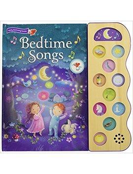 Bedtime Songs: 10 Button Children's Sound Book (10 Button Sound) by Scarlett Wing