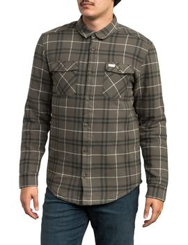 Andrew Reynolds Lined Plaid Shirt by Rvca