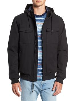 Hooded Bomber Jacket by Rvca