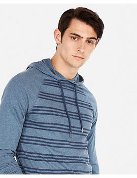 Heather Stripe Hoodie by Express