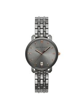 Billie Grey Ion Plated Tone Bracelet Watch, 34 Mm by Rebecca Minkoff