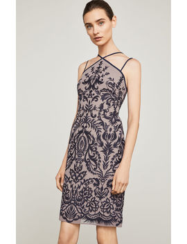 Embroidered Halter Dress by Bcbgmaxazria