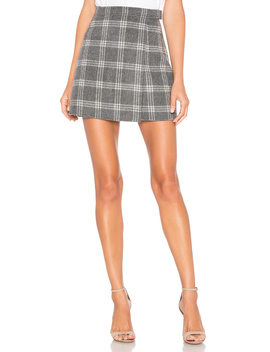 snap-mini-skirt by theory