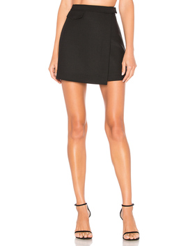 Canton Snap Mini Skirt by Theory