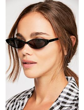 Smokey Eye Sunglasses by Free People