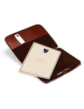 Executive A4 Zipped Padfolio by Aspinal Of London