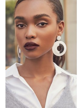 Perfect Harmony Black And White Acrylic Earrings by Lulus
