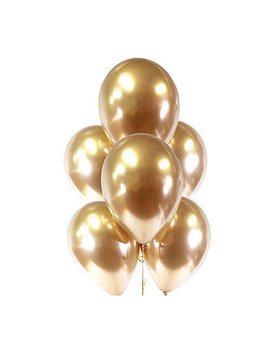 Chrome Gold Balloons | Gold Balloon Bouquet | Metallic Gold Balloons | Chrome Gold Balloon Bouquet | Bridal Shower Balloons | Party Balloons by Etsy